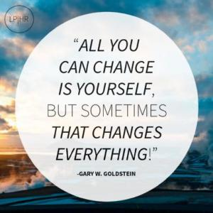 all you can change